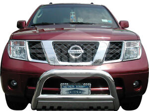 Bgt 05 14 Frontier Front Bull Bar With Plate Bumper Protector Guard S S Ebay