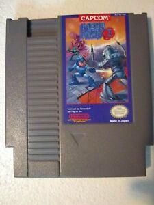 Mega-Man-3-Capcom-Nintendo-NES-Game-Rare-Tested-Works-Great-Authentic-VGC-NICE