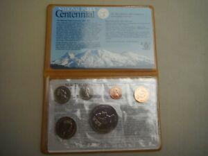 New-Zealand-Coins-Elizabeth-II-National-Parks-Centennial-1987-Part-Set