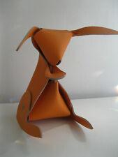 Leather Bunny Organizer Amigos Bunny Orange Leather Desk Organizer Vacavaliente