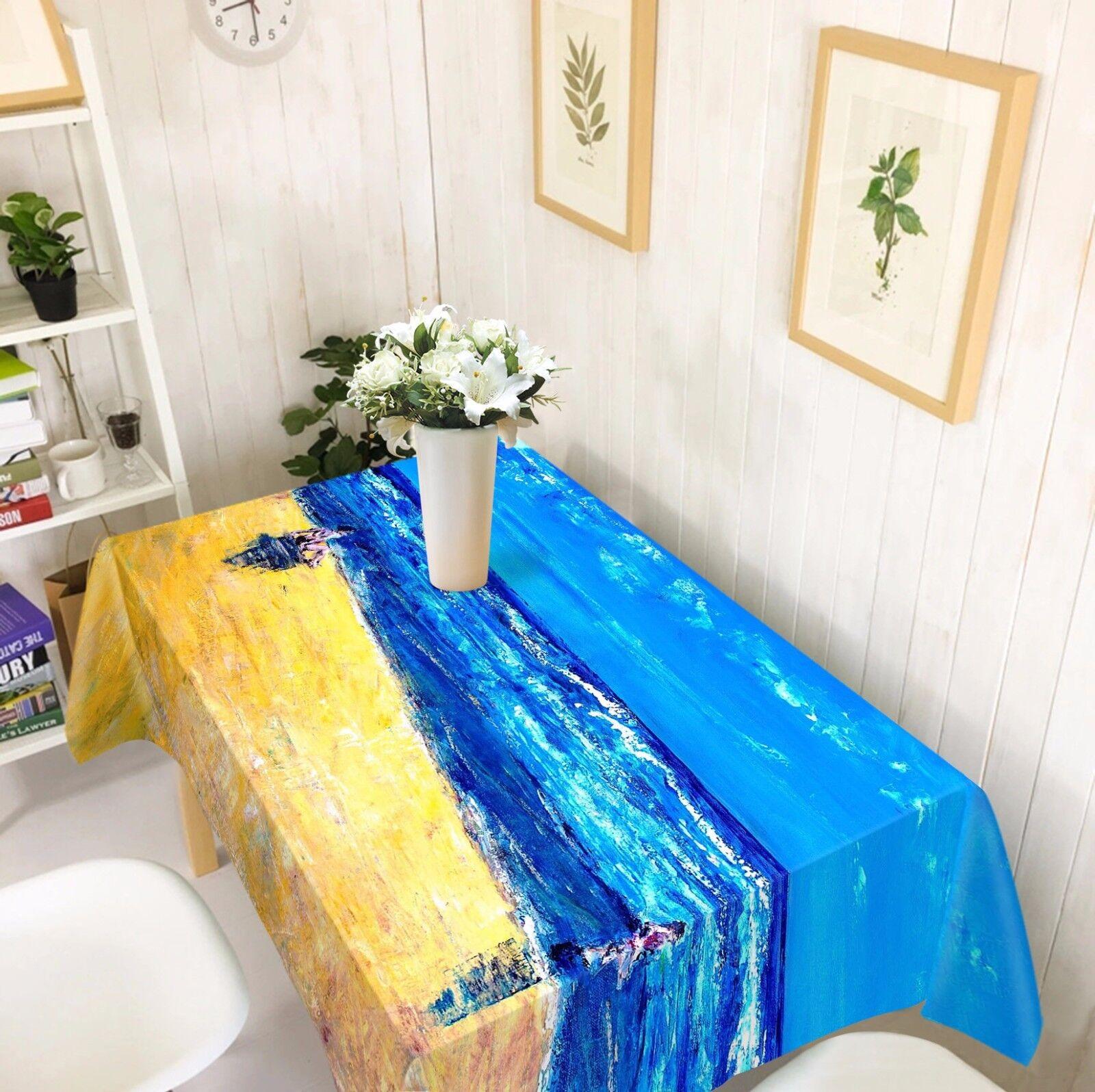 3D peint 5 Nappe Table Cover Cloth fête d'anniversaire AJ papier peint Royaume-Uni Citron