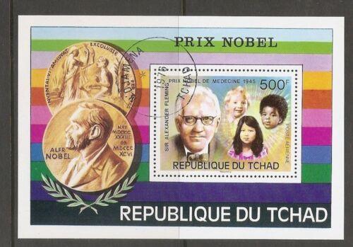 Chad SC # C199 Nobel Prize Type 1976. Souvenir Sheet .MNH