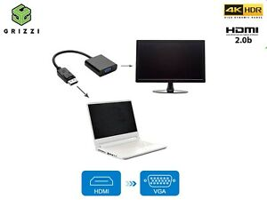 HDMI to VGA Converter Adapter for PC DVD TV Monitor - HDMI Input to VGA Output