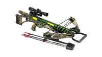 2016 Carbon Express Covert Sls 4x32 Crossbow Pkg 355 Fps W/ Extras 20281