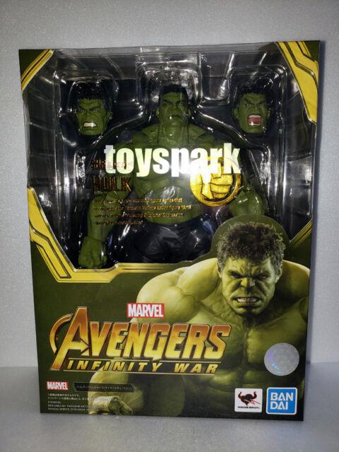 BANDAI S.H.Figuarts Marvel Legends Avengers Infinity War HULK 21cm action figure