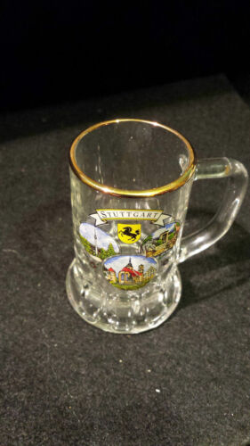 Mini Jarra De Cerveza Stuttgart Alemana Souvenir