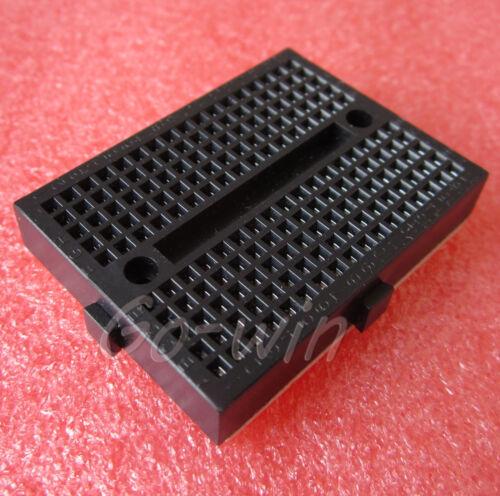 10pcs Black Solderless Prototype Breadboard 170 SYB-170 Tie-points for Arduino