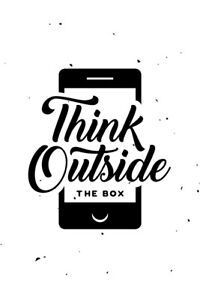 Think-Outside-The-Box-Motivational-Poster-Art-Print-Poster-12x18-inch