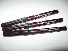 Rotring XONOX Tikky Graphic Pens  0,7 mm  (3 Stück)  Angebot !!!
