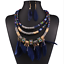 Fashion-Bohemia-Women-Jewelry-Pendant-Choker-Crystal-Chunky-Statement-Necklace thumbnail 88