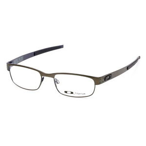 a466c1bd0c9 Image is loading Eyeglass-Frames-Oakley-METAL-PLATE-OX5038-0253-Pewter53mm-
