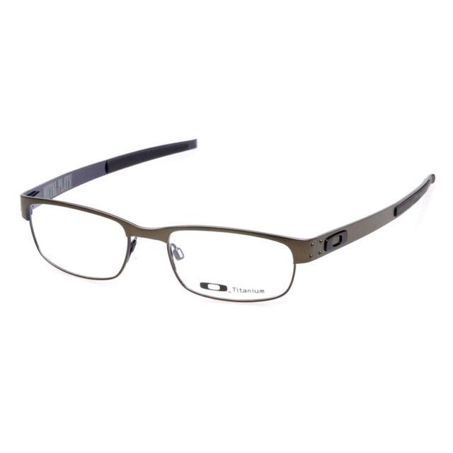 b6d0460bae5 Eyeglass Frames-Oakley METAL PLATE OX5038-0253 Pewter53mm Titanium Glasses  Frame