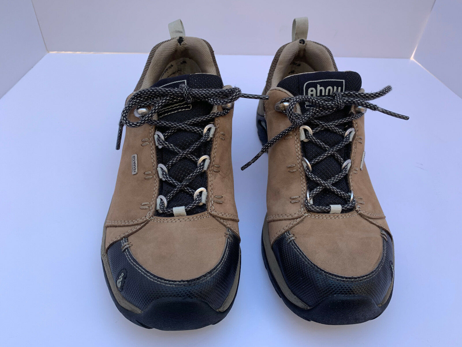 Ahnu Montara 2 11 WP Leather chaussures Vibram Walking Trail Hiking chaussures femmes's 7