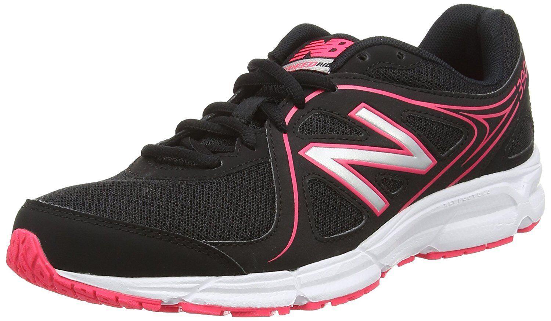 New Balance W390BP2 Women's Running shoes Black 4.5 UK Synthetic Mesh EVA LaceUp