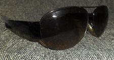 True Vintage Nine West Sunglasses, Brown Gradiated Lenes, Brown Plastic Frame