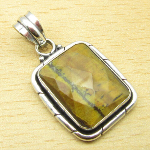 Multiple Pendants NEW 925 Silver Plated Natural TIGER/'S EYE /& Other Gemstones