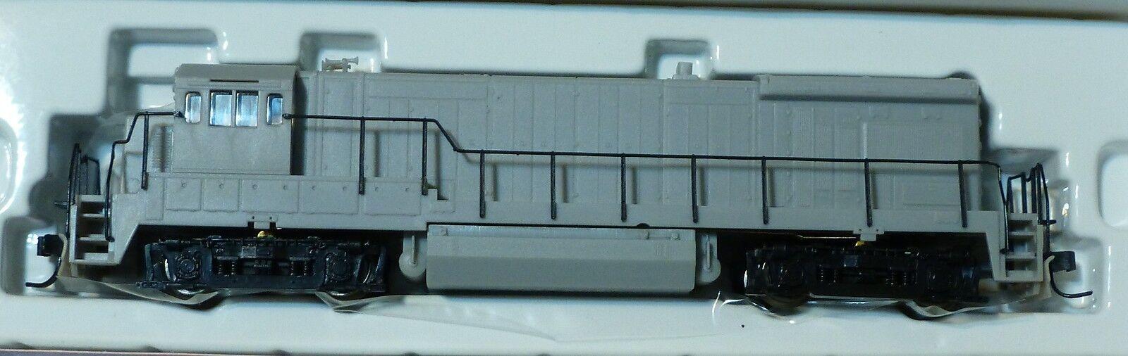 Atlas N Diesel GE B30 -7 Poweröd -- Undekorated w  Flat Rear Headlljus, AA