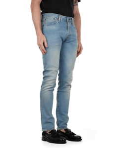 49b612a2100 Image is loading Levi-039-s-501-SKINNY-STRETCH-Mens-Jeans-