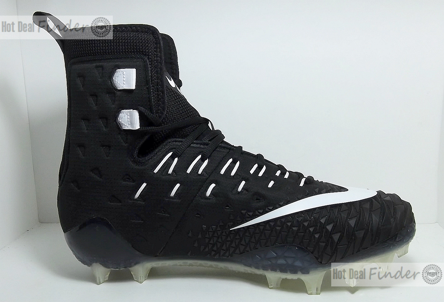 NEW NIKE FORCE SAVAGE ELITE TD = SIZE 10.5 = MEN'S FOOTBALL CLEATS 857063-011