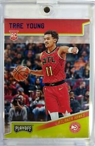 2018-Panini-Chronicles-Playoff-Blue-Trae-Young-Rookie-RC-175-Hawks-039-d-99