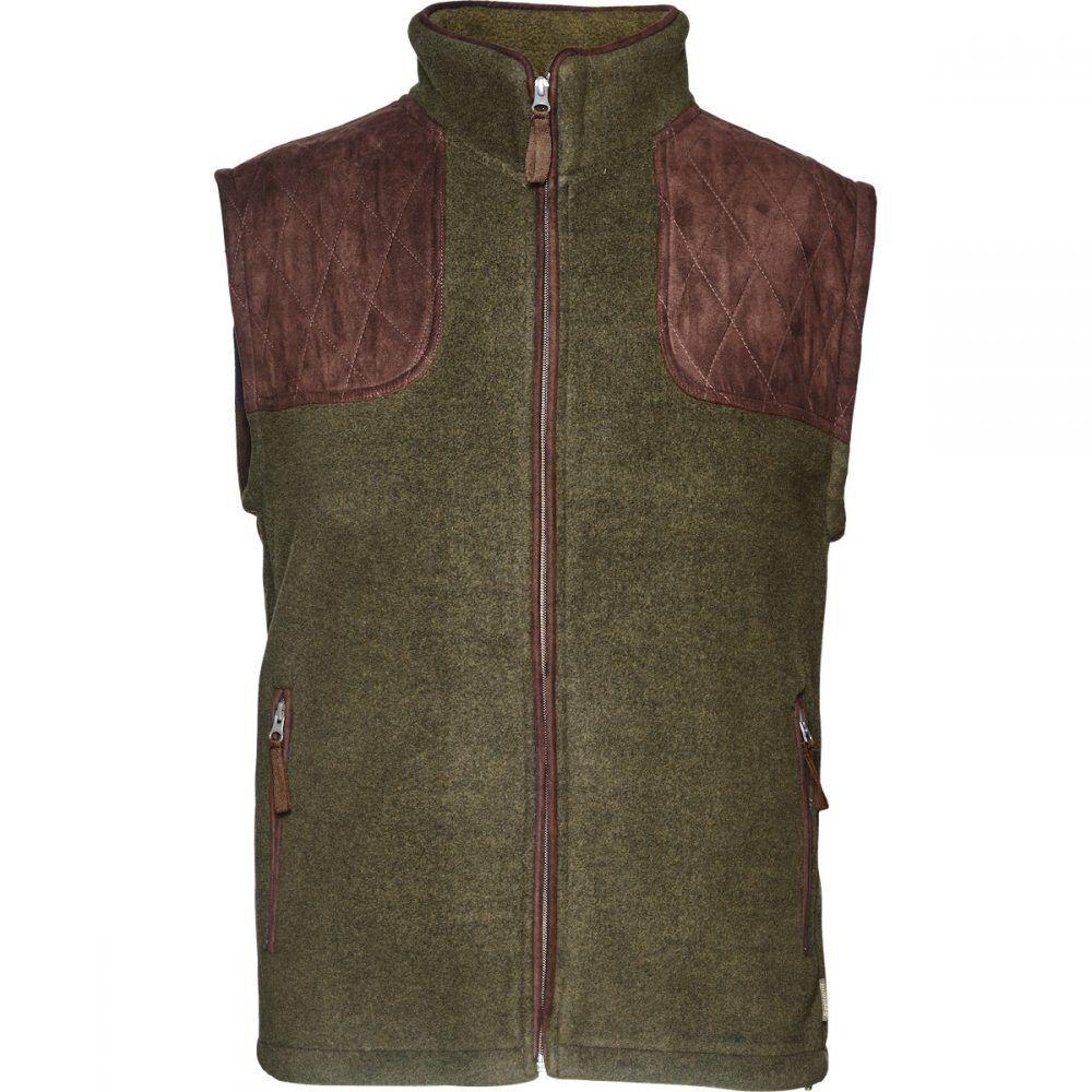 Seeland William 11 Fleece Waistcoat Gilet Pine Grün