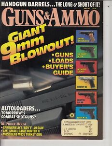 Magazine GUNS & AMMO June 1991 !!! USHS Roy Rogers gun .45 REVOLVER ! ADS  /t3