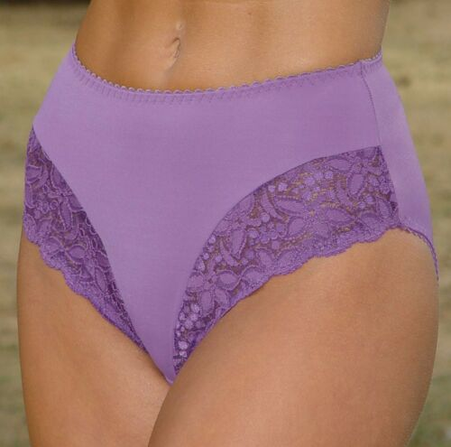 Berdita 20800 /& 20799 3x Lace Deep Briefs Sizes 8,10,12,14,16,18,20,22,24,26