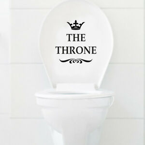 Funny-THE-THRONE-Toilet-Seat-Sofa-Chair-Wall-Stickers-Bathroom-Home-Decoration