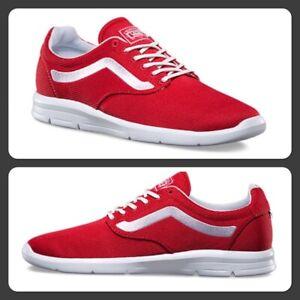 Dettagli su Vans Off The Wall Iso 1.5 True Bianco Rosso Sneakers Scarpe Uomo 13
