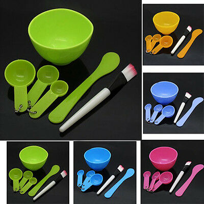Professional 6 in1 Makeup Beauty Face Mask Bowl Brush Spoon Stick Set Tool