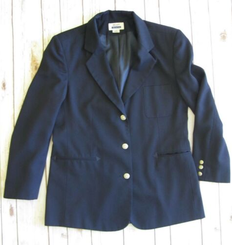 sportiva Blazer Rodeo Giacca Womens Western Wrangler Cowgirl Lined scuro blu 12 Riata z55qC