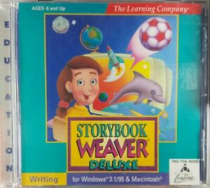 The-Learning-Company-Storybook-Weaver-Deluxe-PC-Game-Windows-3-1-95-amp-Macintosh
