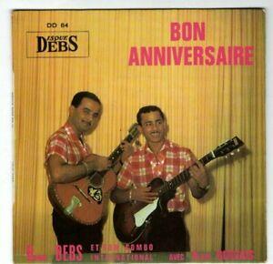 Vinyl 45T EP HENRI DEBS DD64 Bon anniversaire Sergo Marie-line Guadeloupe combo