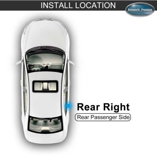 Window Regulator W//o Motor for 00-06 Chevy Tahoe GMC Yukon Escalade Rear Right