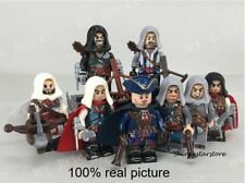 Assassin's Creed lego Black Flag Minifigures 8 pcs KSZ-Lego Kenway Edward James