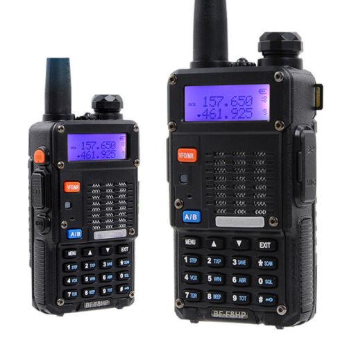 Baofeng BF-F8HP Two Way Radio Walkie Talkie Dual Band VHF UHF Portable Radio