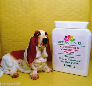 Glucosamina-amp-Condroitina-Rotula-Cuidado-Para-Perros-amp-Gatos-100-x-1000mg