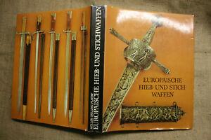 Sammlerbuch-700-historische-Hiebwaffen-Stichwaffen-Degen-Dolch-DDR-1982