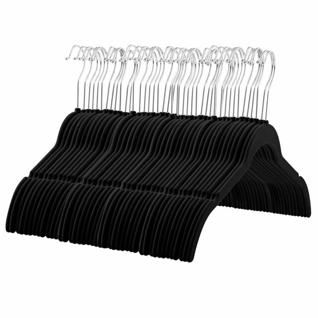 60 Pack, Premium Quality Space Saving Velvet Shirt Hangers Strong and Durable
