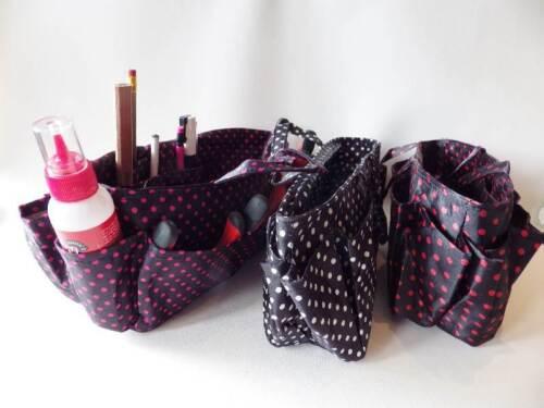 Robuste organisateur de stockage Sac-artisanat coudre tricot fabrication de bijoux Réduit à Transparent