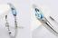 Bracciale-Braccialetto-Donna-Cristallo-Zircone-Swarovski-Azzurro-Strass-Coppia miniatura 8