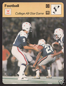 COLLEGE-FOOTBALL-ALL-STAR-GAME-NCAA-Photo-1978-SPORTSCASTER-CARD-21-18C