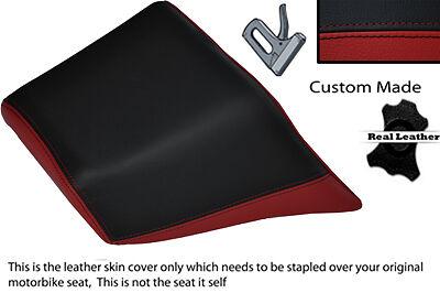 BLACK AND DARK RED CUSTOM FITS YAMAHA V MAX 1200 REAR PILLION SEAT COVER