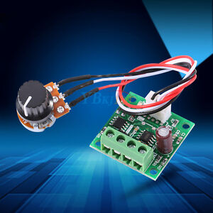 1 8v 3v 5v 6v 12v 15v 2a Pwm Dc Motor Speed Controller