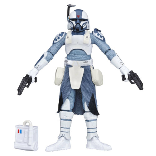 "Star Wars The Black Series 3.75/"" #12 CLONE COMMANDER WOLFFE Figure by Hasbro"