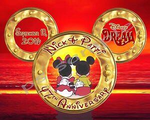 5x7 CUSTOM Disney Cruise Door Magnet NEW YEAR