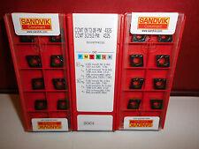 10.Stk Sandvik Wendeplatten CCMT09T 08-PM 4325 Wendeschneidplatten ***Neu***