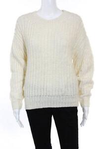 Trina coste misto lana Pullover in piccolo a lana Petite pesante con misto scollo Turk Small a coste vr4n7vx
