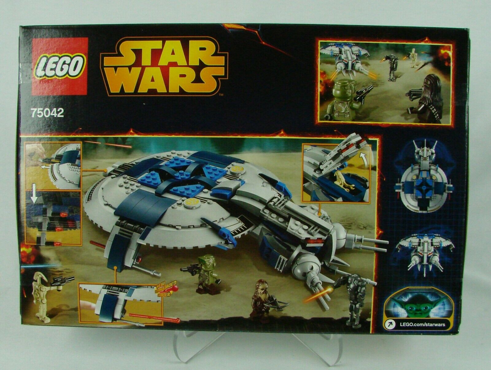 Lego  Star Star Star Wars episode III   Droid Gunship    (2014) 439 pcs  NISB 6b67e0
