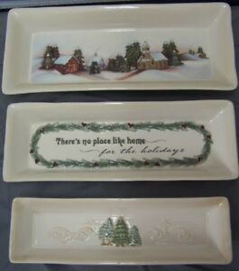 Nesting-Cracker-amp-Cheese-Trays-Good-Tiding-Stoneware-3-Piece-Set